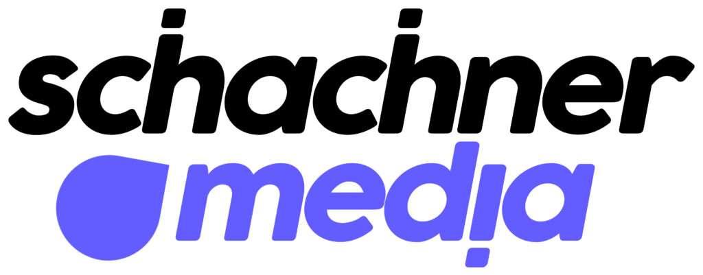 Schachner Media Logo auf Header